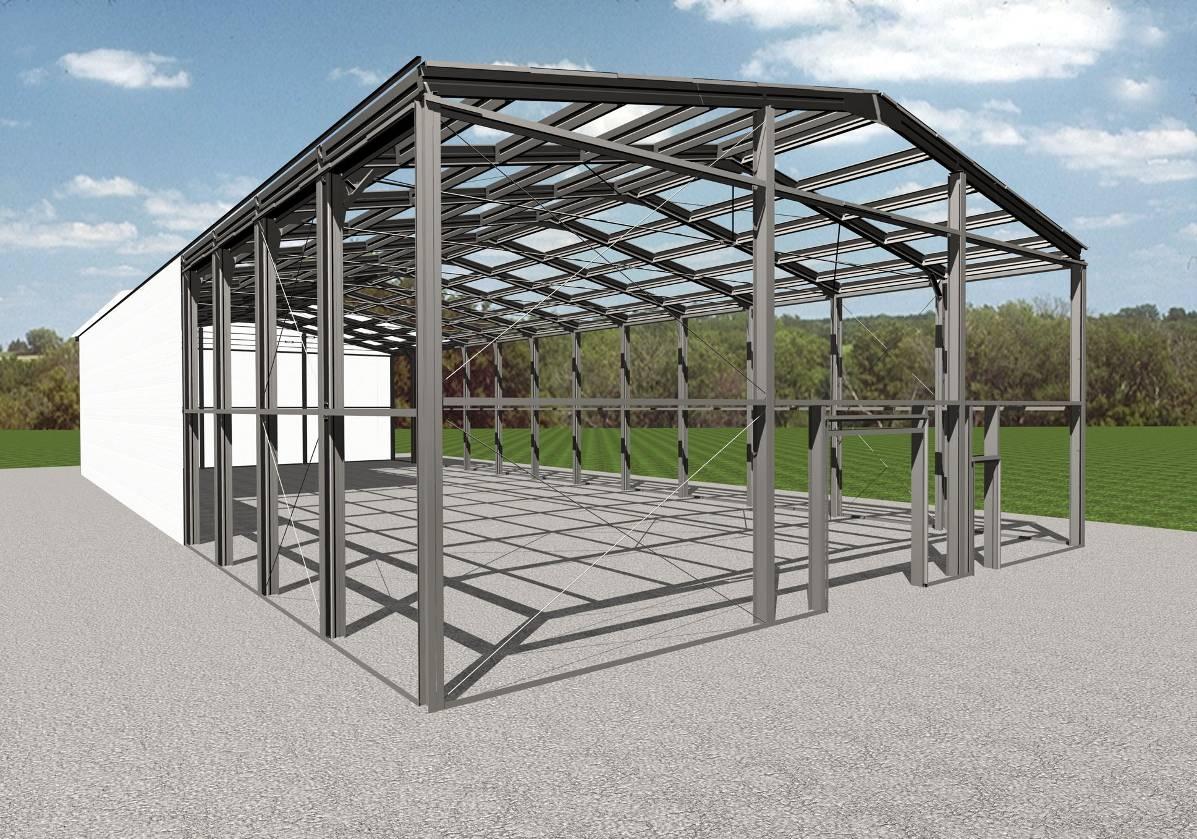 Строительство гаража из металлоконструкций купить гараж в вологде в бывалово